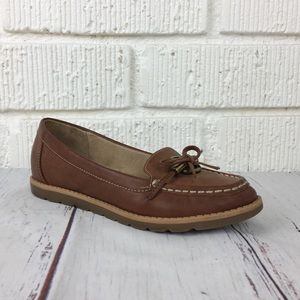 3/$30 NATURLIZER Inlay brown loafers size 6